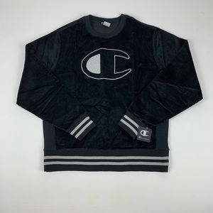 Champion Corduroy Crew Neck Sweatshirt
